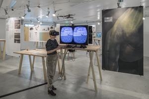 Picture: Diplomausstellung BA Scientific Visualization 2016