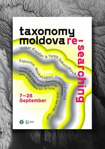 Picture: Ausstellungsplakat «Taxonomy Moldova. Re-Searching», 2019
