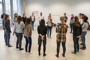 Bild:  Stegreif-Chor Workshop mit Thomas Maria Reck