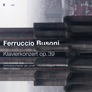 Picture: 21|2020|zhdk records|Busoni - Klavierkonzert|Cover