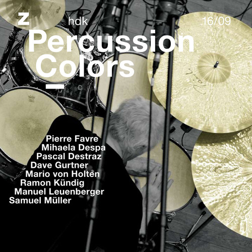 Bild:  16|2009|zhdk records|Percussion Colors|Cover