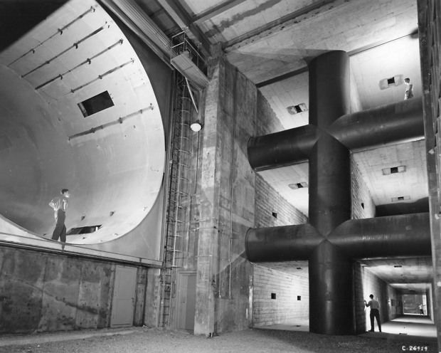 Bild:  Construction of Acoustical Housing Addition to 8x6 Foot Supersonic Wind Tunnel