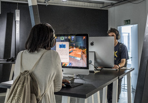 Bild:  Diplomausstellung 2018 Game Design