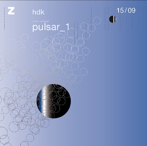 Bild:  15|2009|zhdk records|Pulsar_1|Cover