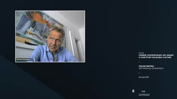 Picture: 2nd Online Meeting with Michael Schindhelm
