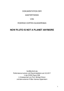 Bild:  NOW PLUTO IS NOT A PLANET ANYMORE