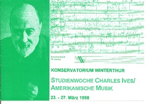 Picture: 1998.03.23.-27.|Studienwoche Charles Ives