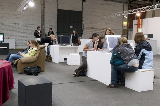 Bild:  Game und Interaction Design – Diplomausstellung 2008