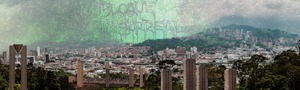 "Bild:  ""BLOQUE SURREAL"" – The Surreal Blocks of Little Medellín"