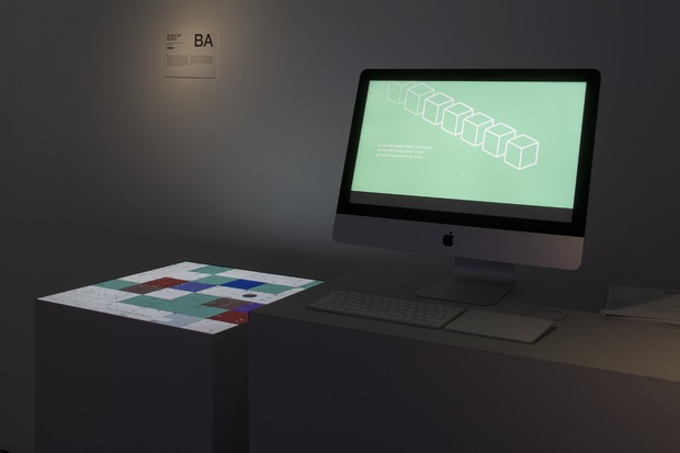 Bild:  Diplomausstellung BA Interaction Design