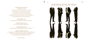 Bild:  22|2010|zhdk records|Gershwin Piano Quartett|Booklet