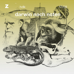 Bild:  17|2009|zhdk records|darwin nach noten|Cover
