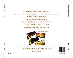 Bild:  22|2010|zhdk records|Gershwin Piano Quartett|Inlay